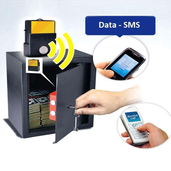 Visuel d'une alarme GSM de coffre-fort