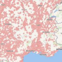 carte des couvertures réseaux mobiles