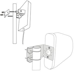 l'antenne extérieure